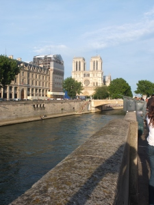 Another great view of the river that I will be looking at this winter and cry that I am not in Paris.
