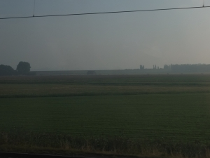 The view from the train, going from Delft to Rosendaal.