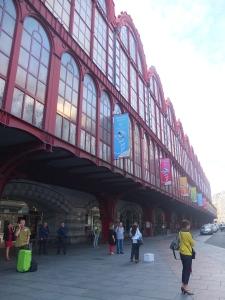 Antwerp train station, exterior