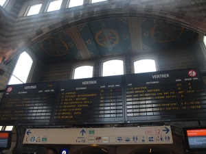 Ghent train station St. Pieters