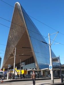 The new Rotterdam station
