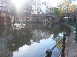 The canals of Utrecht