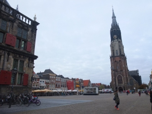The central square of Delft