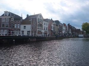 Leiden canal (or is it a river? Looks quite big to me)