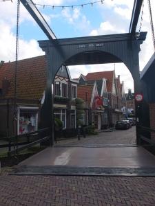 A Volendam gate/bridge