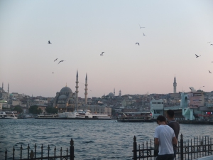 Fifth stop: Istanbul