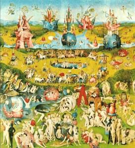 Hieronymous Bosch, Center panel, 'The Garden of Earthly Delights', circa 1504