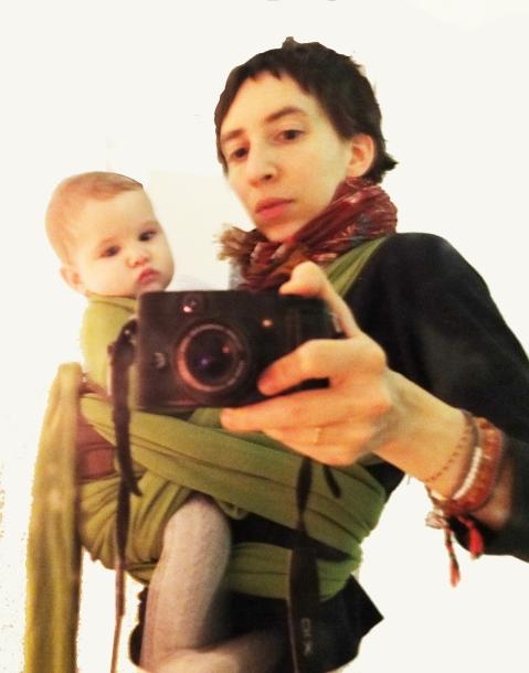 Loulou Maya and a non-hip hippie