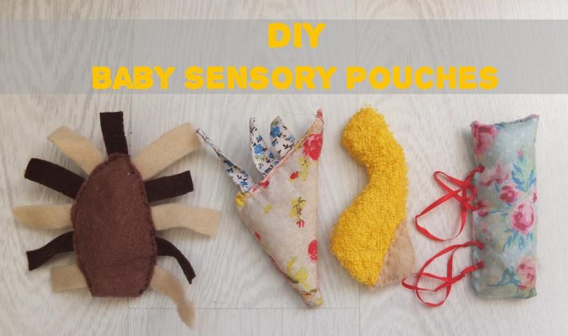 DIY Baby Sensory Pouches