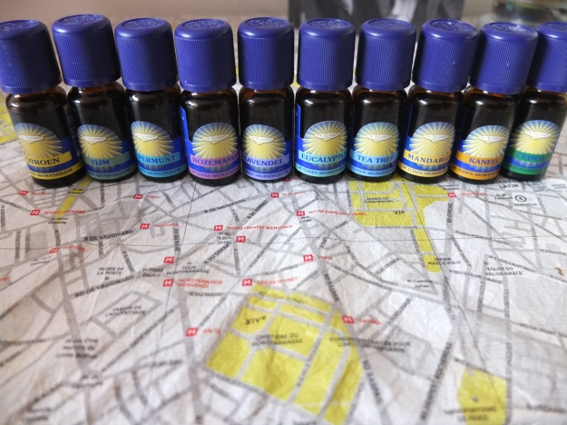 my essential oils collection