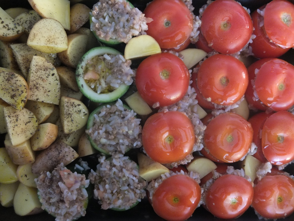 Stuffed Vegetables (Gemista) *vegan* (3/4)