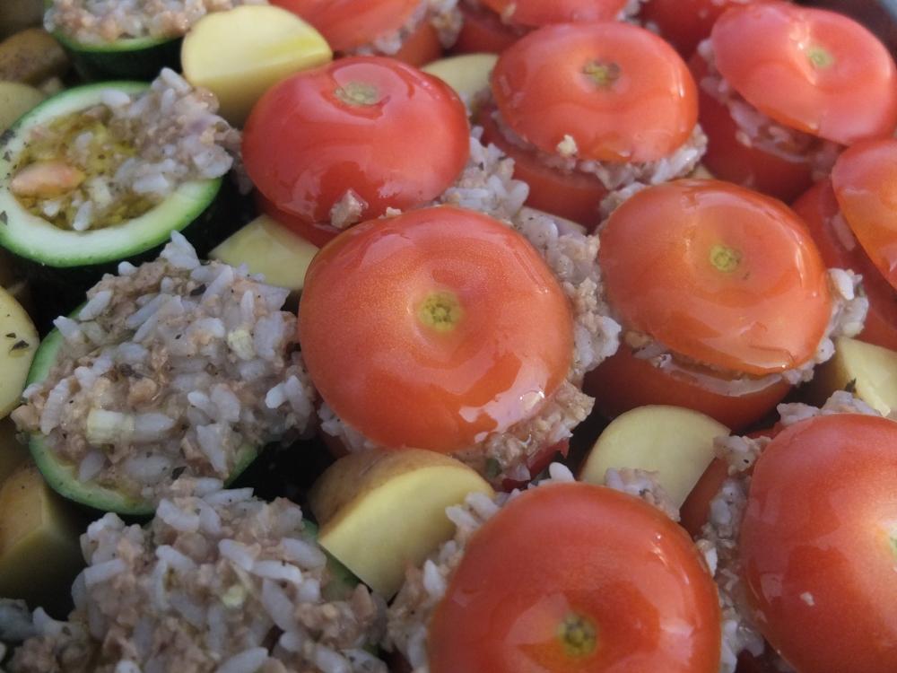 Stuffed Vegetables (Gemista) *vegan* (2/4)
