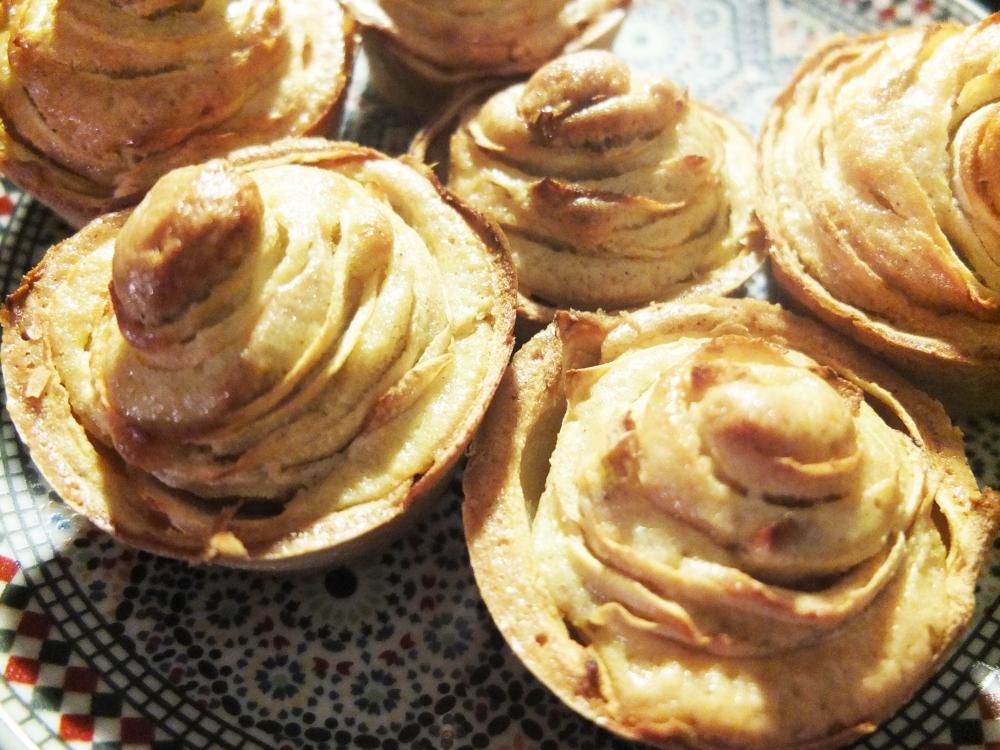 Rose Apple Muffins (4/4)