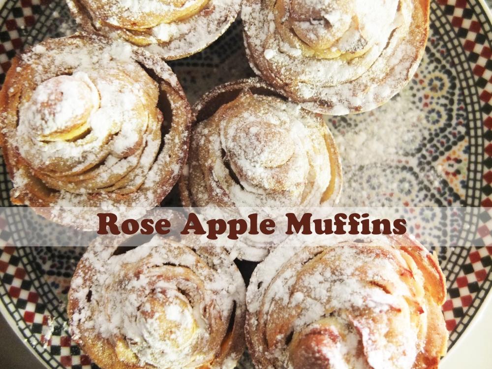 Rose Apple Muffins (1/4)