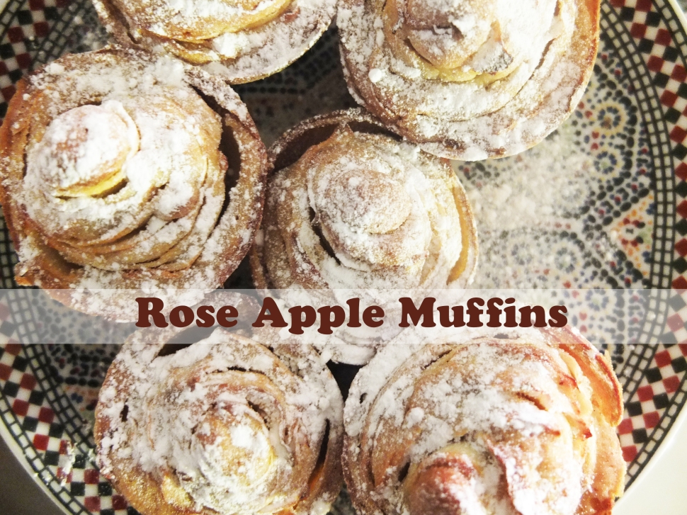 Rose Apple Muffins
