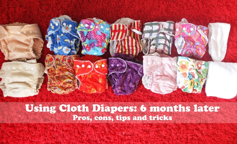 Cloth diapers make you happy :)