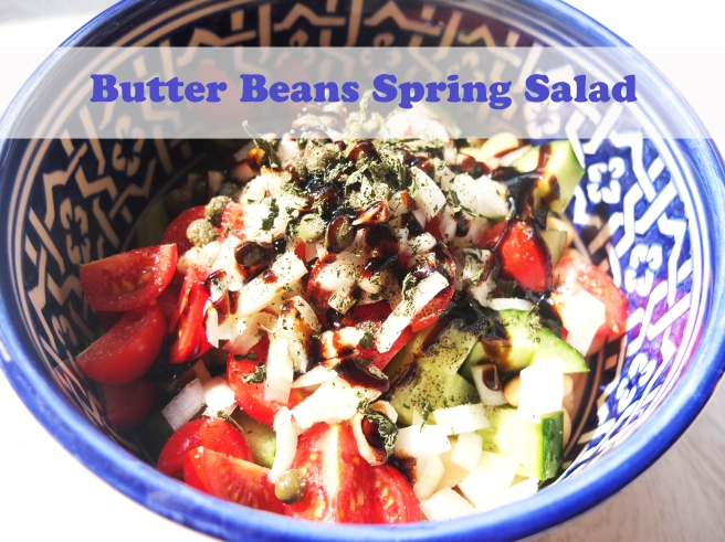 Butter Beans Spring Salad