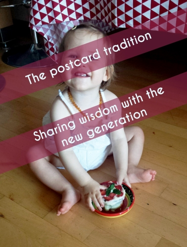The postcard tradition