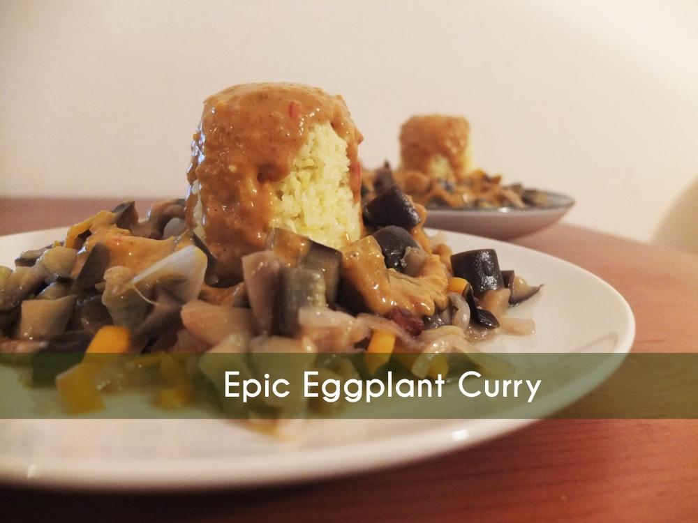 Epic Eggplant Curry (1/3)